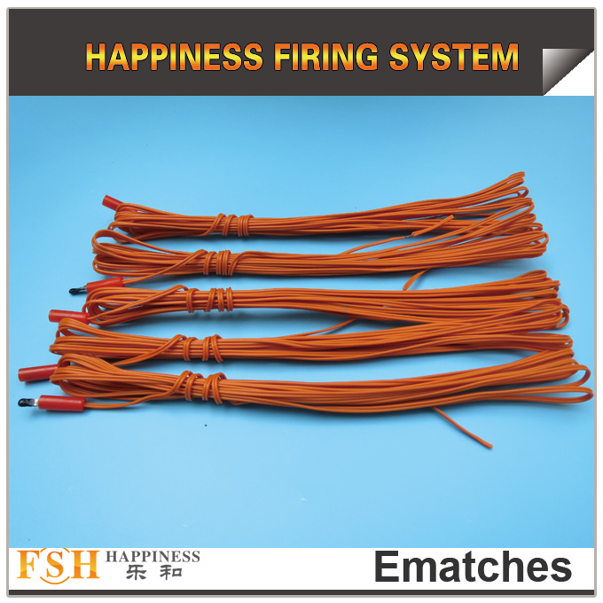 4M fireworks igniter ematches for fast fuse ,0.45MM wire, best quality