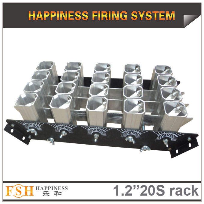 1.2 inch 20 shots  racks, AL display rack for fireworks, special for the roman candles or single shot   - 副本