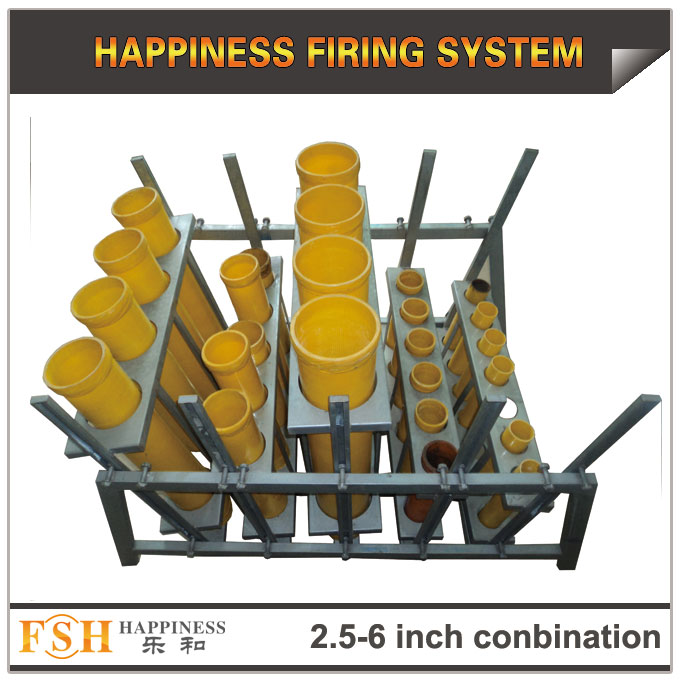 2 5 ,3,4,5,6 inch conbination racks for fireworks display