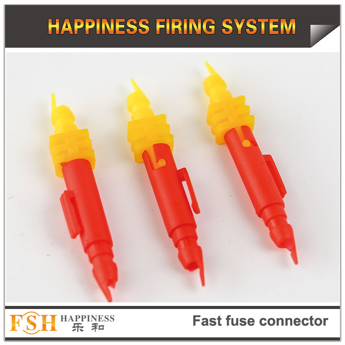 2017 new fast fuse connectors for fireworks display
