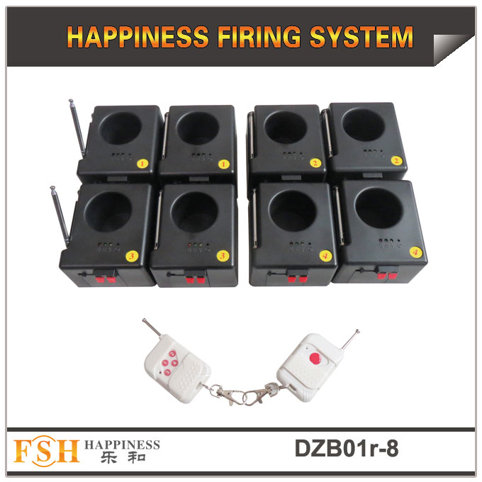 stage fountain remote firing system 8 cues, powered by 9V battery